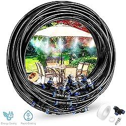 Gesentur Kits d'irrigation, Automatique Réglable Irrigation pour Jardin (10M)