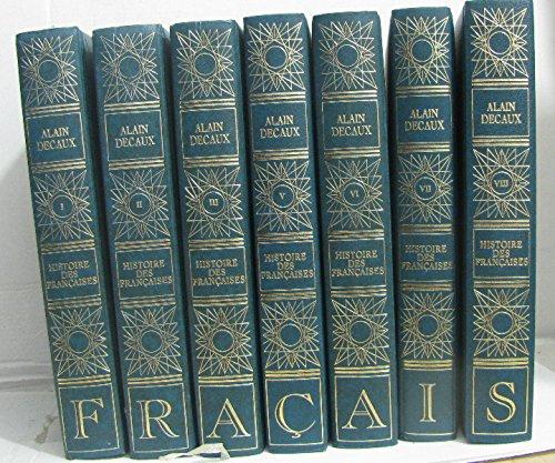 Histoire des françaises (7 volumes -incomplet manque tome IV, IX et X)