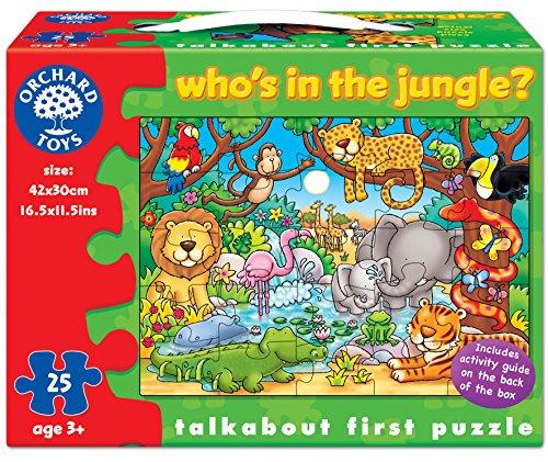 Orchad Toys 216 - Puzzle Who's in the jungle? (25 piezas, idioma...