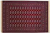 ABC Teppich Buchara Style bordeaux 140 x 200 cm