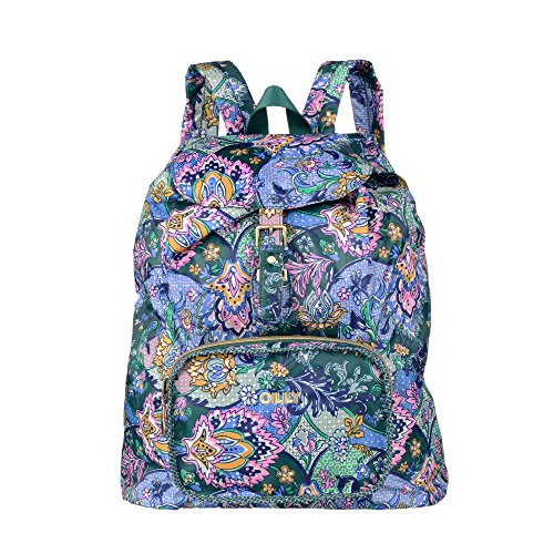 oilily-french-paisley-folding-classic-backpack-emerald