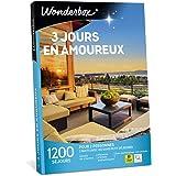 Wonderbox – Coffret cadeau duo - 3 JOURS EN AMOUREUX – plus de 1200 séjours en hôtels de charme, moulins, yourtes, roulottes,