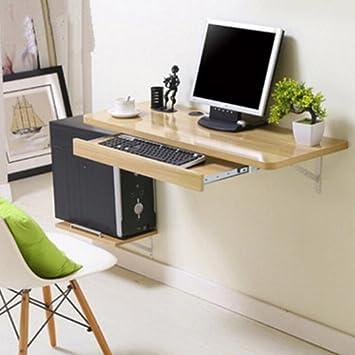 LAMXF-Tabella del computer Tavolo da scrivania pieghevole in legno ...