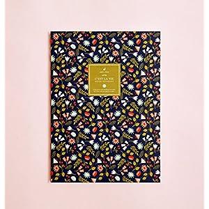 Blumen- bebildert linierte Notizbuch   Garten-Notizbuch • Blumenstrauß-Notizbuch • Schreibtagebuch • Notizbuch für Schriftsteller-Geschenk • Tagesplaner • Das Notizbuch • Großes Notizbuch • Zurück zu Schule • Kind-Notizbuch