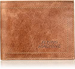 Flying Machine Brown Mens Wallet (FMAW0243)