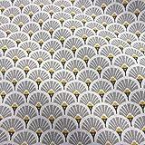 Werthers Stoffe Stoff Baumwollstoff Meterware Japan Fächer