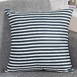 Kissenbezug 5050 Blau Weiß Deine Wohnideende