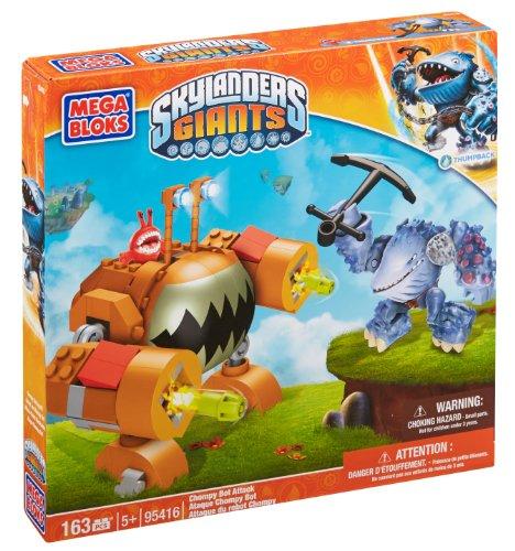 Mega Bloks 95416 Skylanders Giants Chompy Bot