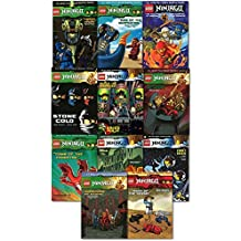 Lego Ninjago Graphic Novel Collection 11 Books Set Pack By Greg Farshtey (The Challenge of Samuka, Mask of the Sensei, Rise of the Serpentine, Tomb of the Fangpyre, Kingdom of the Snakes, Warriors of Stone, Stone Cold, Destiny of Doom, Night Of The Nindroids, Who is the Phantom Ninja, Comet Crisis) by Greg Farshtey (2016-08-06)