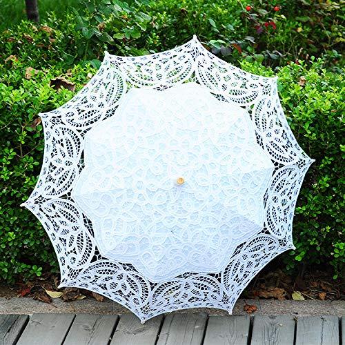 Ombrello di danza del puntello di fotografia di nozze dell'ombrello del mestiere del merletto