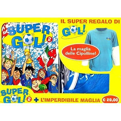 Supergol (Taglia Unica). Con T-Shirt: 2