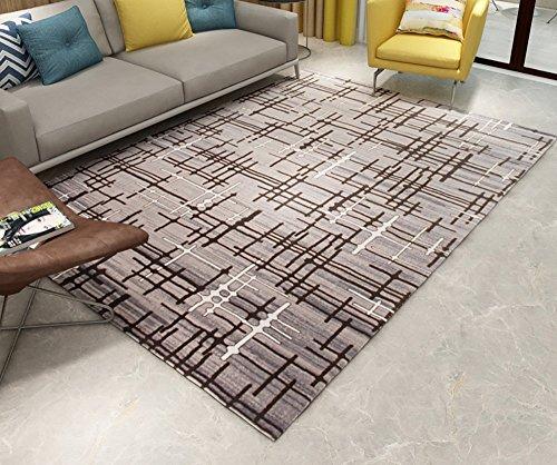 Brown Ovalen Esstisch (Creative Light Modernes Einfaches Wohnzimmer Teppich Couchtisch Schlafzimmer Mats Esstisch Study Thicker Bedside Large Teppiche (Größe : 160cm*230cm))