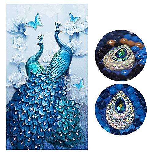 SHUIBIAN 5D Diamant Painting Set Full DIY Crystal Strass Stickerei Painting Diamant Dekoration für Home Wall Décor Büro Dekoration(45 * 80CM) -
