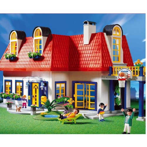 Maisons playmobil achat vente de maisons pas cher for Casa moderna playmobil 9266