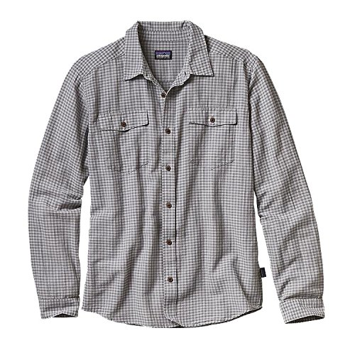 Patagonia Herren M's L/S Steersman Shirt Hemd, Kakigrün (EL Cap Khaki), 2XL -