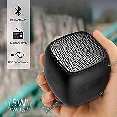 Portronics Bounce POR-939 Portable Bluetooth Speaker with FM (Black)