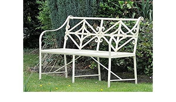 Outstanding Black Country Metal Works The Cradley Deluxe Iron Bench Dailytribune Chair Design For Home Dailytribuneorg