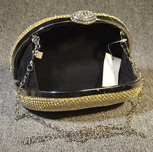 Peacock Dinner Bag borsa sposa Bag Set Elegante coclea signora mini borsa-32833 oro