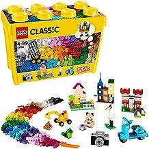 LEGO Classic 10698 - Caja de ladrillos creativos grande, multicolor