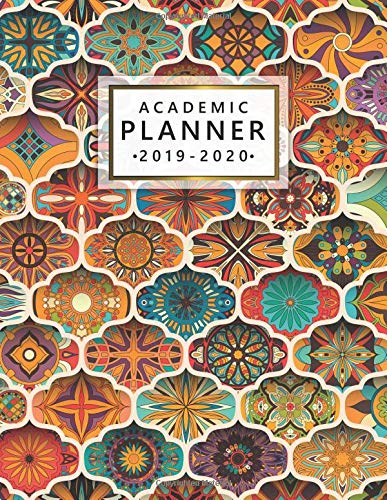 a9a4233e6f18d 2019-2020 Academic Planner: Cute Boho Weekly & Monthly Student Organizer,  Calendar & Schedule Agenda with Inspirational Quotes, Notes, To-Do's,  Vision ...