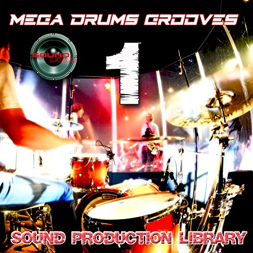 MEGA DRUMS GROOVES 1 – Production Samples Library – Kits/Loops/Performances 8.5GB on 2DVDs/download