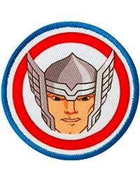 Avengers–Thor Button–Parche para planchar bordados Patch–Aprox. 6cm