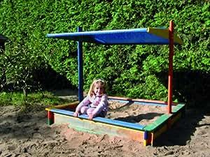 promadino sandkasten nadine 140x140 mit sonnensegel k che haushalt. Black Bedroom Furniture Sets. Home Design Ideas