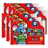 Küchle Knabber Esspapier rot Erdbeer Geschmack 25g Essoblaten (6er Pack)