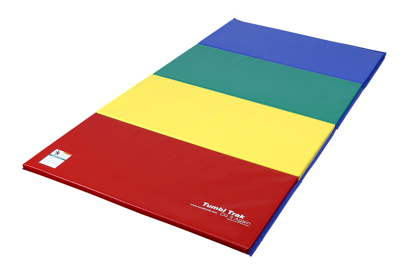 tumbl trak folding gymnastics mat 12m x 24m amazoncouk sports u0026 outdoors