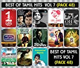 #2: Best of Tamil Film Hits - Vol 7 Pack 48 (Tamil Film Hits songs in pack of 13 MP3s with 250+ Tracks)