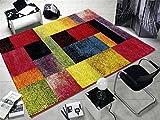 ARTWORK OCTOGRAPHIC moderner Designer Teppich bunt in multicolor, Größe: 140x200 cm