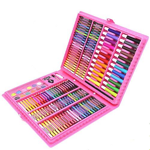 zt 168 Jungen und mädchen malerei Set aquarell Stift/Crayon/schreibwaren geschenkbox Geschenk Schule effektive assistent malerei liefert Geschenkset für Kinder ()
