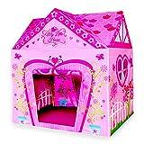 Wubox Kinderspielhaus - Zelt, Bällebad, Spielhaus für Kinder und Babys in verschiedenen Ausführungen, Größen und Designs - zum Spielen und Verstecken für den Garten und das Kinderzimmer, Zeltname:My Little House