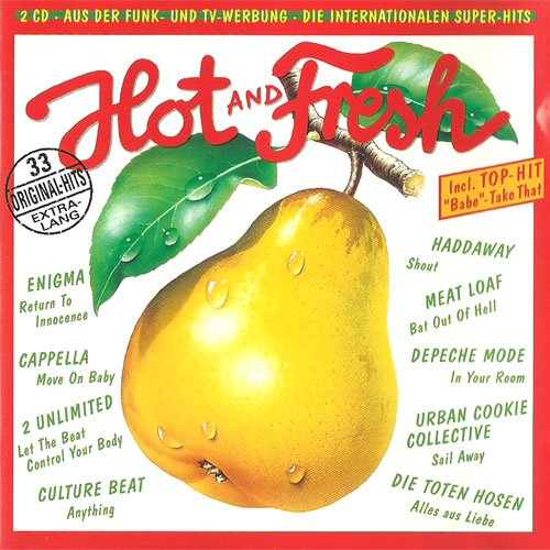 hot and fresh vol.9 (CD Compilation, 33 Tracks) Culture Club - Anything / Face II Face - I Want You / DaYeene - Revelation / The Black Barons - Girl, I Love You So / Haddaway - Shout etc..
