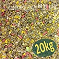 20kg 'Wheatsheaf' ZEgROw Premium Wild Bird Mix (High Energy - No Grow - No Mess) by Croston Corn Mill