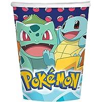 8 gobelets en carton Pokemon 250ml