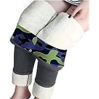 Pantaloni termici da donna, foderati, invernali, leggings termici, in pile, per lo sport, per il tempo libero, per lo…