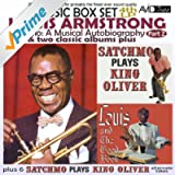 Satchmo: A Musical Autobiography, Pt. 2 (4th LP) & Two Classic Albums Plus [Satchmo Plays King Oliver / Louis and the Good Book] [Remastered]