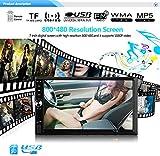 7-Zoll-Auto HD-Touchscreen, Unterstützung Vorne USB/TF-Port FM Mit Rückfahrkamera MP5-Player Multimedia Entertainment/Für Die Meisten Modelle,7012B