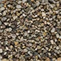 Aquarienkies Bodengrund QUARZKIES / DUNKEL / 5 kg. KÖRNUNG ca 2-5 mm.