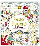 Poster de l'avent à décorer - 1 activité par jour pour attendre Noël