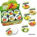 24 x Solvente Per Unghie Nail Polish Remover Tubi Frutta Profumata Non Acetone Display Box