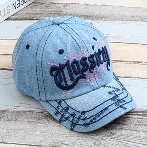 c9880679c7ce6 19% OFF on Generic Sky Blue   New Children Baseball Caps Boys Girls Spring  Summer Print Hats Stars Sun Hat Baby   Kids Cotton Fashion baby cap GH188  on ...