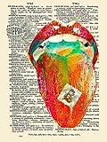 Tripper Acid LSD Dictionary Page Art Print Poster 12 x 16 HP4257