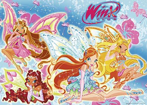 Winx-Flora, Aisha, Bloom und Stella, Ravensburger Puzzle 24Teile (071203)