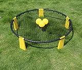 NTS 3 Ball Outdoor Rasen Strand Spikeball, Volleyball Spike Game