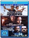2 Guns / Der Knochenjäger / Die Entführung der U-Bahn Pelham 123 [Blu-ray] 3 Filme Denzel Washington Pack