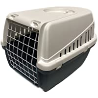 Savic Trotter 1 Pet Carrier - for Cats, Puppies and Small Animals (Earth Blue)