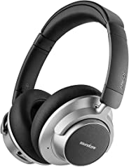 Wireless Noise Canceling Headphones, Soundcore Space NC by Anker with Touch Control, Hybrid-Active Noise Cancellation, 20-Ho