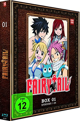 Fairy Tail - TV-Serie - Box 1 (Episoden 1-24) [3 Blu-rays]